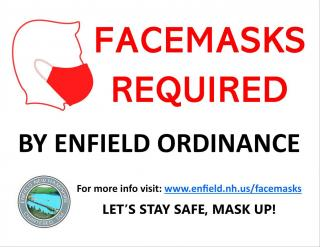 Facemasks Required by Enfield Ordinance