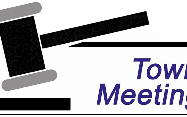 Town Meeting Gavel