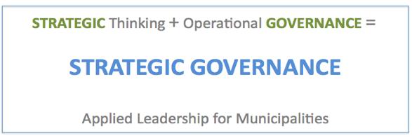 Strategic Thinking + Operational Governance = Strategic Governance
